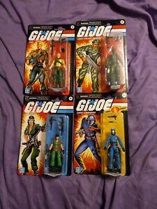 """Gi Joe Retro 3.75"""" Stalker, Duke, Lady Jaye, Cobra Commander Lot Of 4 2021"""