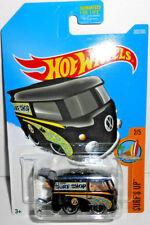 Hot Wheels Surf's Up MOONEYES VW Volkswagon Surf Shop KOOL KOMBI (Black) #302