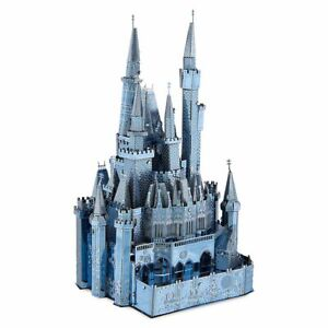 Disney Parks Princess Cinderella's Castle Metal Earth 3D Model Kit Exclusive NEW