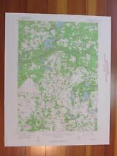 Sand Lake Michigan 1960 Original Vintage USGS Topo Map