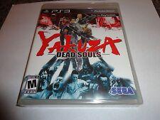 Yakuza: Dead Souls  (Sony Playstation 3, 2012) NEW PS3