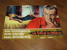 FOTOBUSTA,1964,LA DONNA DI PAGLIA,Woman of Straw,SEAN CONNERY,LOLLOBRIGIDA, 007