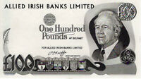 Northern Ireland £100 Pounds Allied Irish Banks Limited Banknote P5 UNC RARE