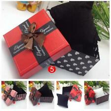 Present Gift Box Case For Bracelet Bangle Jewelry Watch Box With Foam Pad