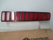 Mopar NOS 1973-74 Dodge Charger Right Hand Taillight Lens 3621894
