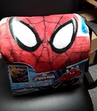 Marvel Ultimate Spider-Man City Sunset Over Size Throw 59 in x 78 in