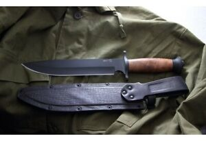 """Russian hunting knife """"DV-2"""" made of steel Y 8.Kizlyar knife"""