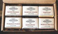 6 Handmade 2.5-3 oz Bar Soaps Your Choice - All Natural botanical soaps, Gift