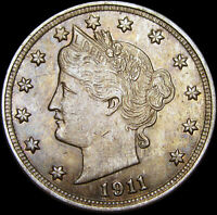 1911 Liberty V Nickel ---- STUNNING ---- #W072
