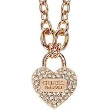Guess joyas collar con colgante de Corazón Ubn21582