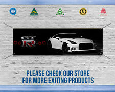 NISSAN GTR BANNER, Great way to decorate your Garage - High quality banner,