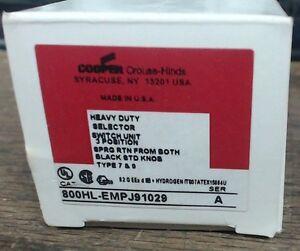 Allen Bradley 800HL-JP91KB7AAXX  3 position explosion proof switch