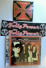 JOLLY POWER taste the blood of the sonic revolution CD + 3 STICKER cult ITA band