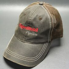 ExxonMobil Pipeline Brown Baseball Cap Adjustable Hat