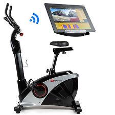 Hop-Sport Heimtrainer HS-090H Ergometer Bluetooth 4.0, 12 Programme, WATT, HRC