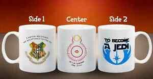 Harry Potter Hogwarts Star Wars Lord of the Rings Meme Mug 11oz Ceramic Cup Gift