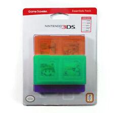 Lot of 10 Nintendo 3DS Game Traveler Essentials - Green / Orange / Purple
