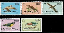 Anguilla,Scott#678-682,MNH,Birds,Scott=$23