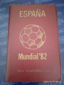SPAIN 1980*80/81 Coins Set MUNDIAL*82 - 1982 FIFA World Cup