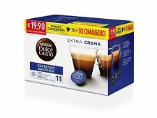 80 Capsule Caffè Gusto ARDENZA Nescafè DOLCE GUSTO Originali capsule dolcegusto