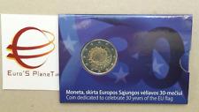 coin card 2 euro 2016 LITUANIA Baltic Lituanie Litauen Lietuva Литва Lithuania