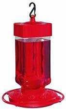First Nature 3055 32-ounce Hummingbird Polymer Feeder Red