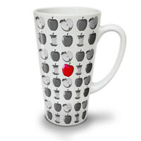 Red Apple Food Fashion NEW White Tea Coffee Latte Mug 12 17 oz | Wellcoda