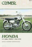 Honda CD125 CA160 CB160 CL160 CA175 CD175 Clymer Repair Service Shop Manual M321