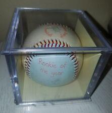 CHILD TO CHERISH All-Star Blue & Yellow Baby's 1st Baseball Keepsake