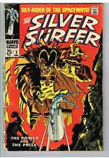 Silver Surfer #3 Beautiful Reproduction Cover w//Original Ads Key 1st Mephisto