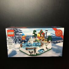 �� Lego 40416 Limited Edition Ice Skating Rink 304pcs New 👀