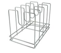 Chrome Plated Commercial Pizza Screen Rack, Store Pizza Pans, Screens, Or Covers