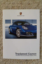 2009 Porsche Cayman Tequipment Accessories Sales Brochure Awesome L@@K