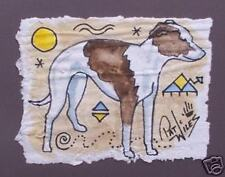 Rock Art WHIPPET Pup Dog/Dogs Original