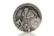 2015 2 oz Silver Coin RAGNAR Viking Series by Scottsdale Mint .999 Silver #A372