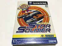 Hudson Selection Star Soldier Nintendo Game Cube GC Hudson Used Japan 2003 F/S