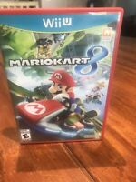 Mario Kart 8. Wii U. Nintendo. Tested Works. Free Shipping