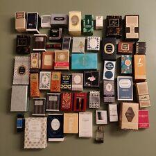 Collection 51 miniatures de parfums avec boîtes années 70
