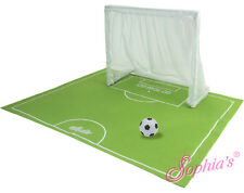 """Sports Net and """"Playing Field"""" w/ Soccer Ball Set for 18"""" American Girl Dolls"""