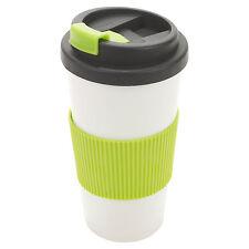 500ml Double Wall Drinking Cup Warm Coffee Tea Travel Thermal Mug Screw On Lid
