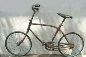 Vintage Antique Russian Soviet Childern's Bike Bicycle USSR 1950's