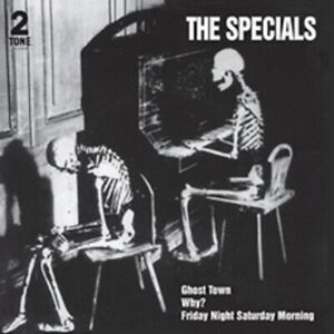 """The Specials - Ghost Town - 40th Anniv Half Speed Master 7"""" Vinyl - In Stock"""
