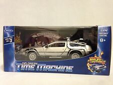 Delorean Time Machine Back To The Future Part II, 1:24 Scale Diecast Metal,Welly