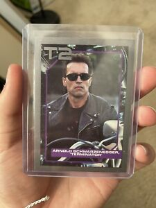 1991 Impel - Arnold Schwarzenegger - Rookie Card - Terminator 2 #134 - MINT