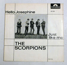 "COVER ONLY - THE SCORPIONS ""Hello Josephine"" D Polydor BEAT VG++ PS"