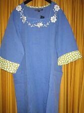 Gudrun Sjöden Tunika, Kleid, blau, Gr. L, * NEU mit Etikett *