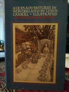 VIntage 1978 Alices Adventures In Wonderland Lewis Carroll illustrated