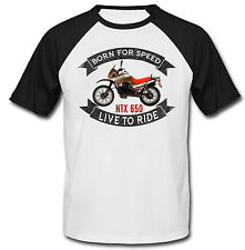 MOTO GUZZI NTX 650 - NEW COTTON TSHIRT - ALL SIZES IN STOCK