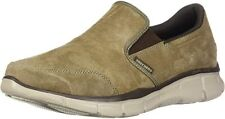 Skechers 51502 Men's Brown Suede with Synthetic Sole Slip-On Loafer Shoes US 9