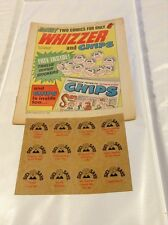 rare whizzer and chips comic 1 with free gift 18/10/1969 first edition no1 rare